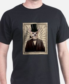 Steampunk Chihuahua Dog Victorian Altered Art T-Sh