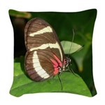 Butterfly pic.png Woven Throw Pillow