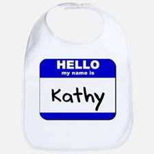 hello my name is kathy  Bib