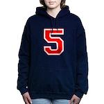 5 red.png Hooded Sweatshirt