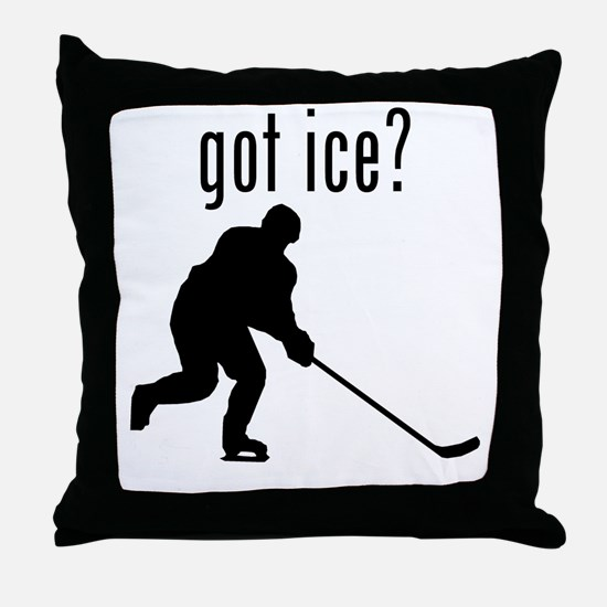 got ice? Throw Pillow