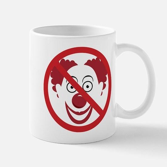No Bozos Symbol Stainless Steel Travel Mugs