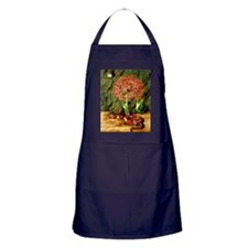 Marianne North: Flor Imperiale, Coral Apron (dark)