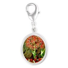 Marianne North: Flor Imperiale, Silver Oval Charm