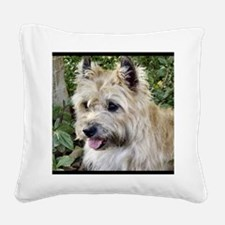 Bright eyes Square Canvas Pillow
