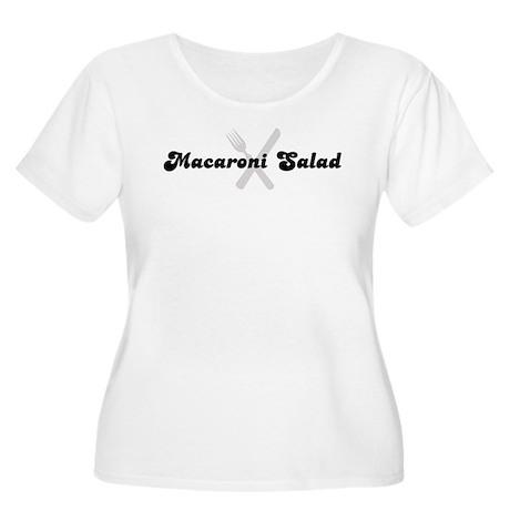 Macaroni Salad (fork and knif Women's Plus Size Sc