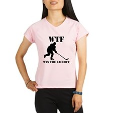 WTF Win The Faceoff Performance Dry T-Shirt