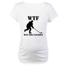 WTF Win The Faceoff Shirt