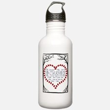 IF YOU < > I WILL Water Bottle