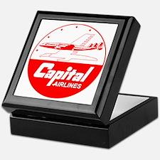 Capital Airlines Keepsake Box