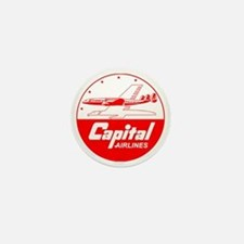 Capital Airlines Mini Button