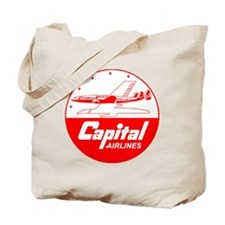 Capital Airlines Tote Bag