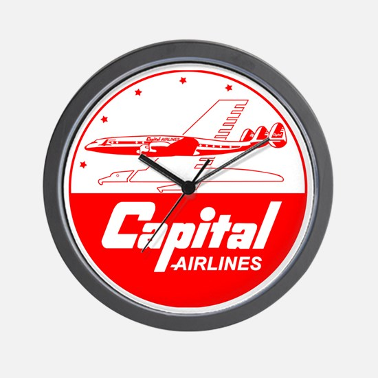 Capital Airlines Wall Clock