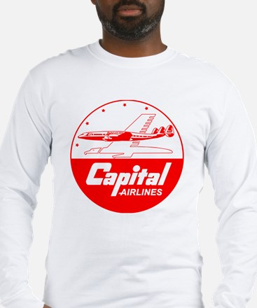 Capital Airlines Long Sleeve T-Shirt
