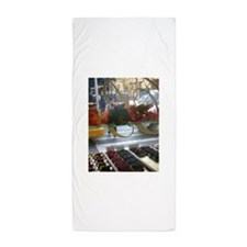 Pastry Window Tall Beach Towel