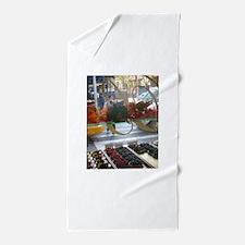 Pastry Window Tall Beach Towel