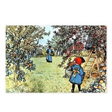 Carl Larsson: The Apple H Postcards (Package of 8)
