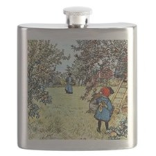 Carl Larsson: The Apple Harvest Flask
