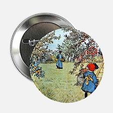 "Carl Larsson: The Apple Harvest 2.25"" Button"