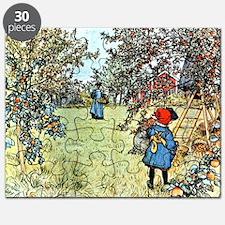 Carl Larsson: The Apple Harvest Puzzle