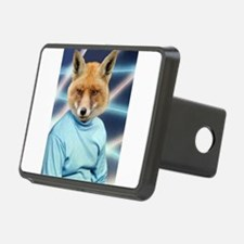 Fox Man Yearbook Photo Altered Art Kawaii Quirky H