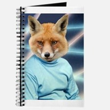 Fox Man Yearbook Photo Altered Art Kawaii Quirky J