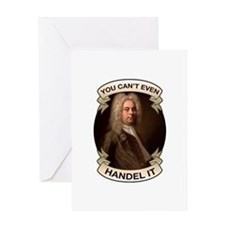 Handel Pun Greeting Card