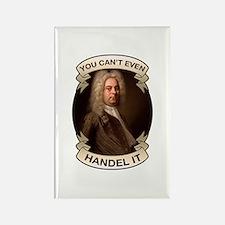 Handel Pun Rectangle Magnet