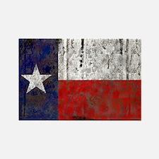 Texas Retro State Flag Rectangle Magnet