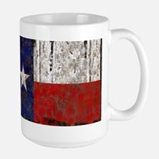 Texas Retro State Flag Large Mug