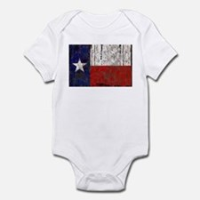 Texas Retro State Flag Infant Bodysuit