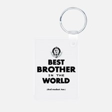 The Best in the World Best Brother Keychains