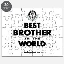 The Best in the World Best Brother Puzzle
