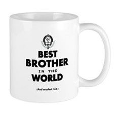The Best in the World Best Brother Mugs