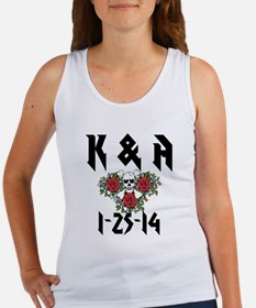 Personalized Skull Tank Top