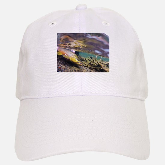 Brown Trout - Catch and Release Baseball Baseball Baseball Cap