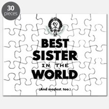 The Best in the World Best Sister Puzzle