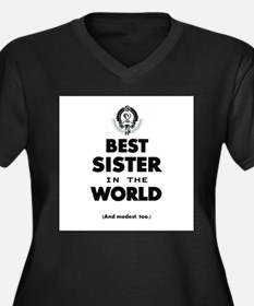 The Best in the World Best Sister Plus Size T-Shir