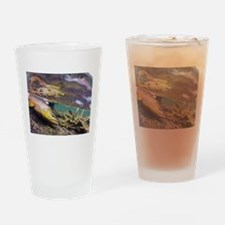 Brown Trout - Catch and Release Drinking Glass