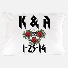 Personalized Skull Pillow Case