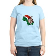 Christmas Turtle 3 T-Shirt
