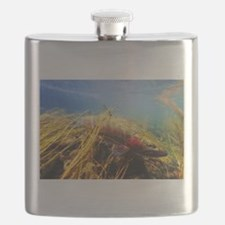Rainbow Trout - Fly Fishing Flask