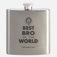 The Best in the World Best Bro Flask