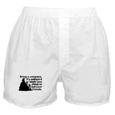 Bring a compass.... Boxer Shorts