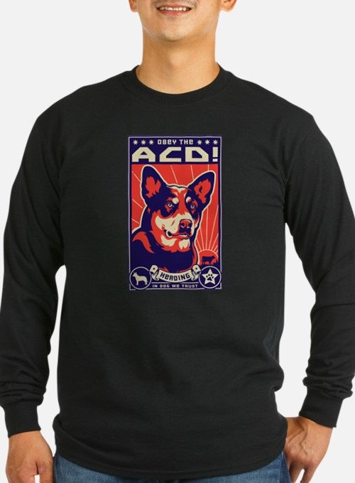Obey the ACD! Long Sleeve T-Shirt