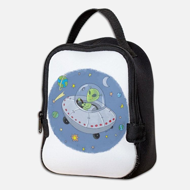 Alien UFO Cartoon
