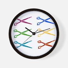 warholscissorlogo.png Wall Clock