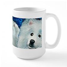"American Eskimo ""Gidget"" Mugs"