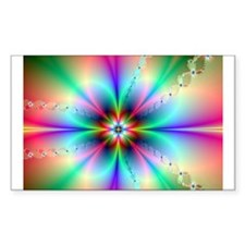 Fractal floral3 burst Decal