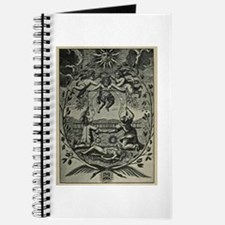 Alchemical Print from 1677 Journal